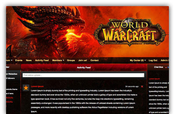 World of Warcraft Guild Websites